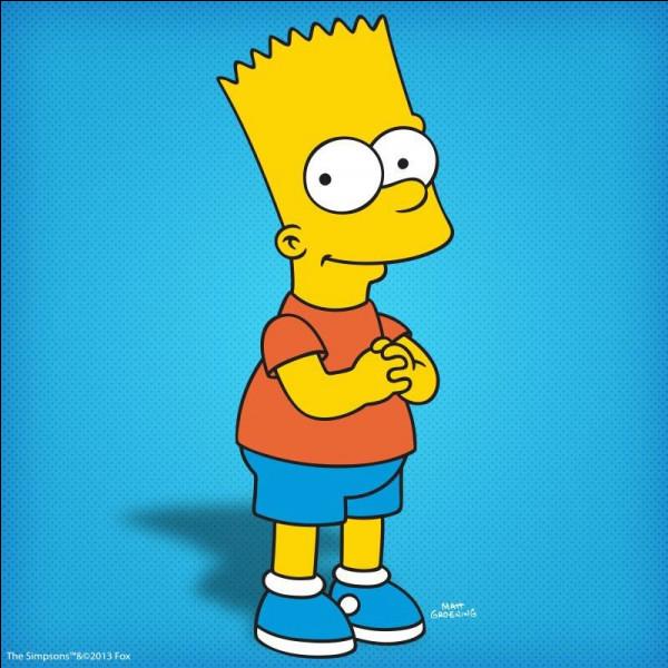 Comment s'appelle le fils des Simpson ?