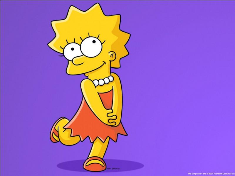 Comment s'appelle la fille des Simpson ?