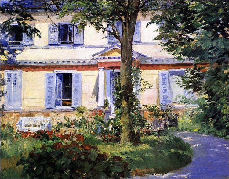 """Qui a peint """"La Maison de Rueil"""" ?"""