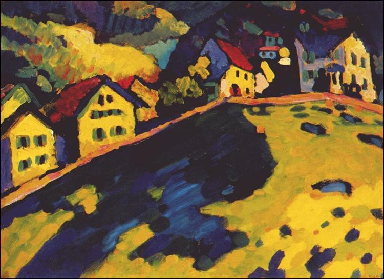 "Qui a peint ""Maisons à Murnau"" ?"