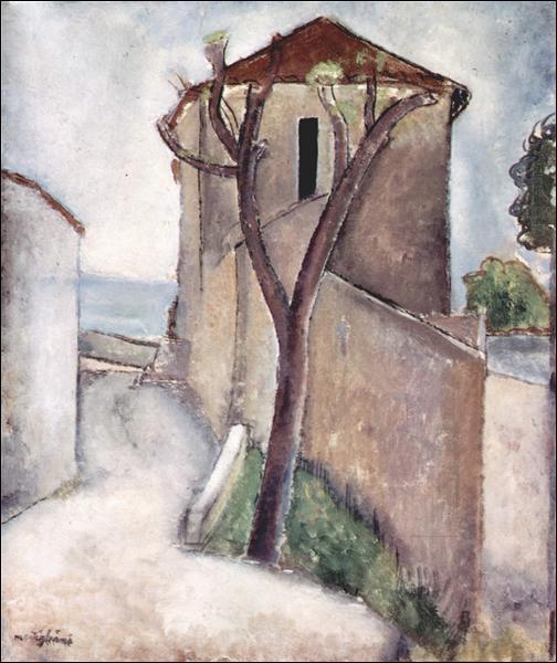 """Qui a peint """"Arbre et Maison"""" ?"""
