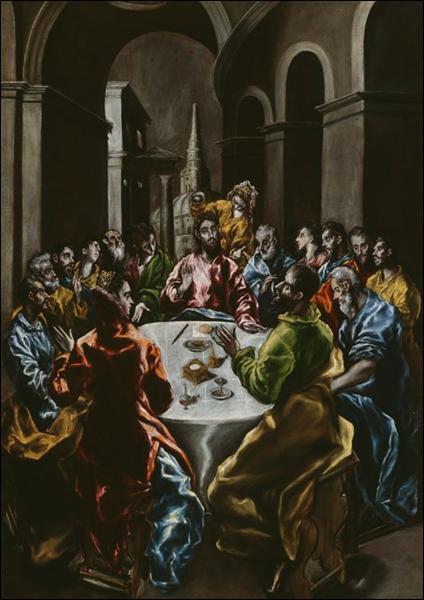 """Qui a peint """"Fête dans la maison de Simon"""" ?"""