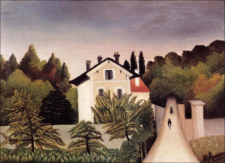 """Qui a peint """"Maison aux portes de Paris"""" ?"""