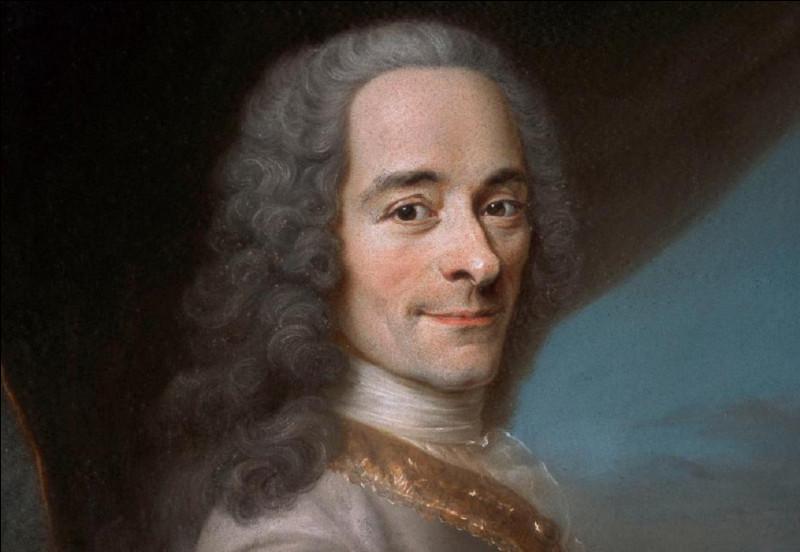 Quel était le vrai nom de Voltaire ?