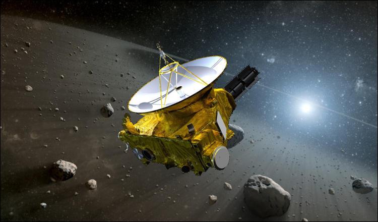 La sonde New Horizons, de l'agence spatiale américaine, a pour objectif principal l'étude de la planète Mars.