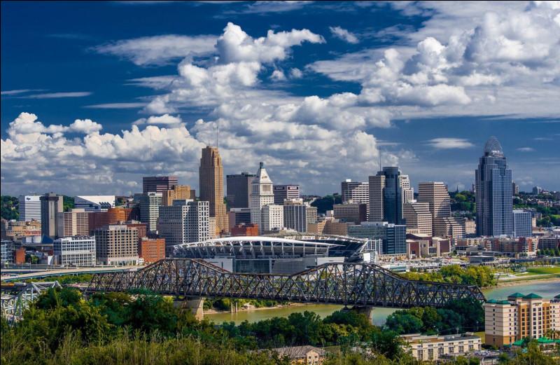 Dans quel Etat se trouve la ville de Cincinnati ?