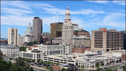 De quel Etat Hartford, ville de 125 000 habitants, est-elle la capitale ?