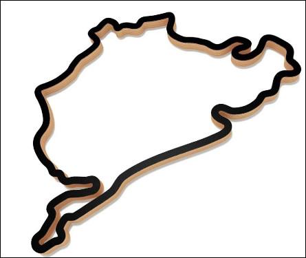 Commençons ce quiz avec l'un des circuits allemands les plus mythiques dont voici le tracé. Quel est le nom de ce tracé ?