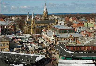 Liepāja, ville de 78 000 habitants, située sur les rives de la mer Baltique, est une ville de ...