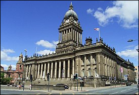 Ville anglaise de 800 000 habitants, située dans le Yorkshire, au coeur d'un agglomération de près de 2 millions d'habitants :