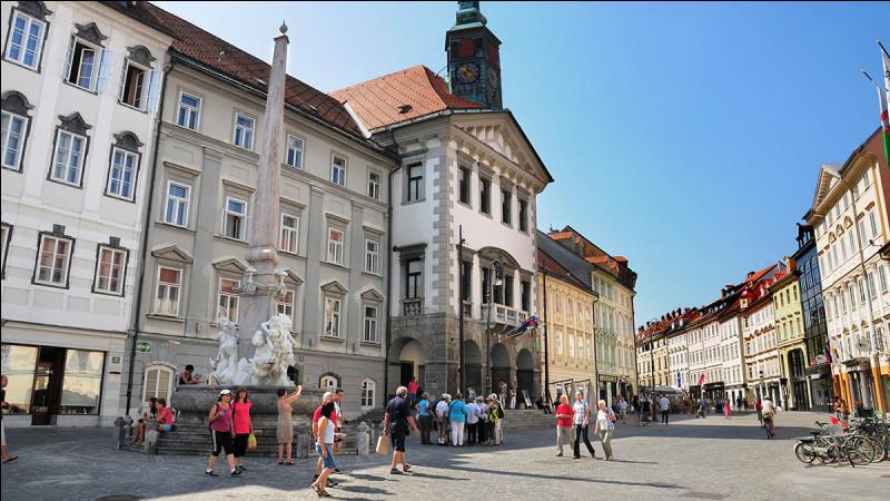 Capitale de la Slovénie :