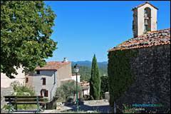 Village perché Varois, Claviers se situe en région ...