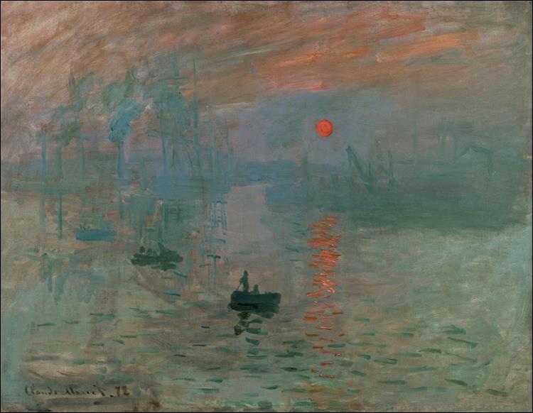 """Qui a peint """"Impression, lever de soleil"""" ?"""