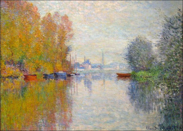 """Qui a peint """"L'automne sur la Seine à Argenteuil"""" ?"""