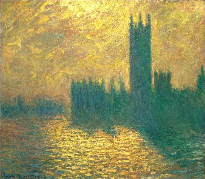 """Qui a peint """"Chambres du Parlement"""" ?"""