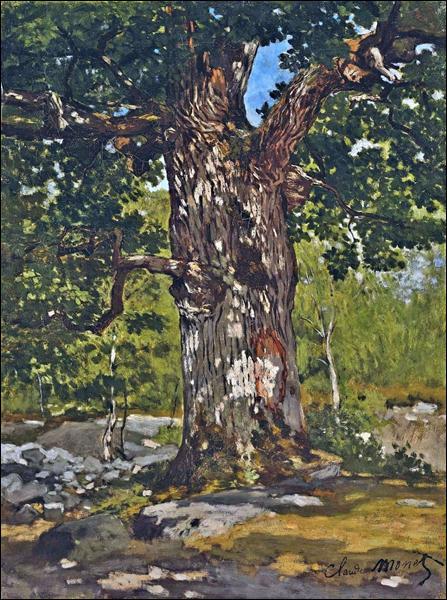 "Qui a peint ""Le chêne Bodmer"" ?"