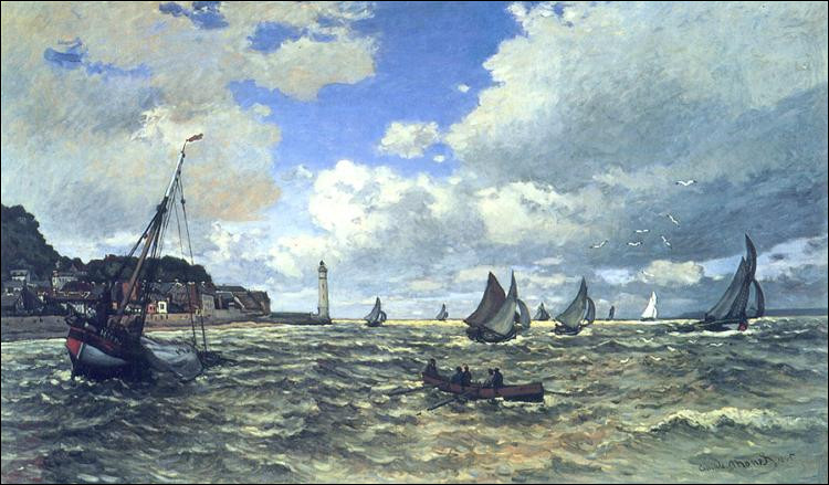 """Qui a peint """"L'estuaire de la Seine à Honfleur"""" ?"""