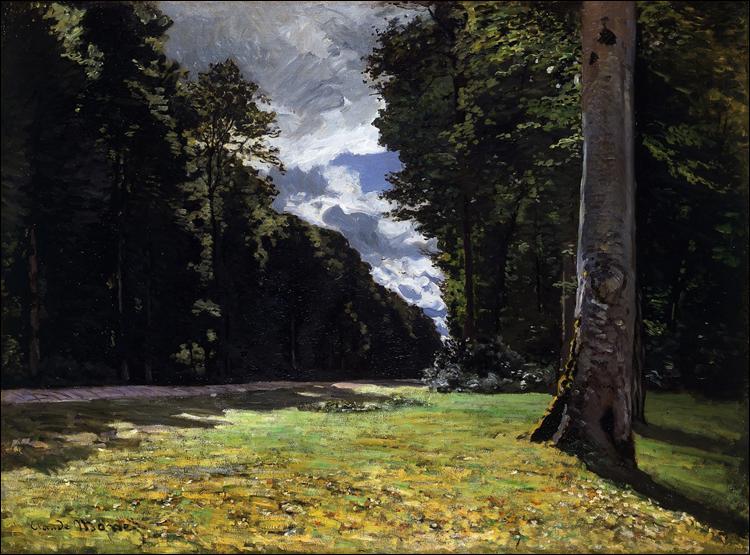 """Qui a peint """"Le Pave de Chailly dans la forêt de Fontainebleau"""" ?"""