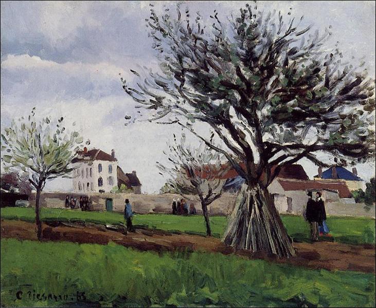"""Qui a peint """"Pommiers à Pontoise"""" ?"""