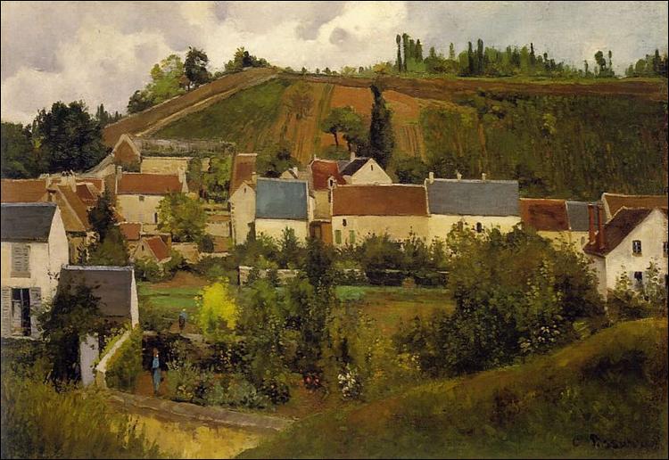 """Qui a peint """"Vue sur l'Hermitage, Pontoise"""" ?"""