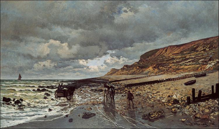 """Qui a peint """"La pointe de la Hève à marée basse"""" ?"""