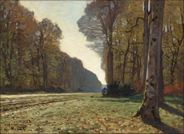 """Qui a peint """"Le Pavé de Chailly"""" ?"""