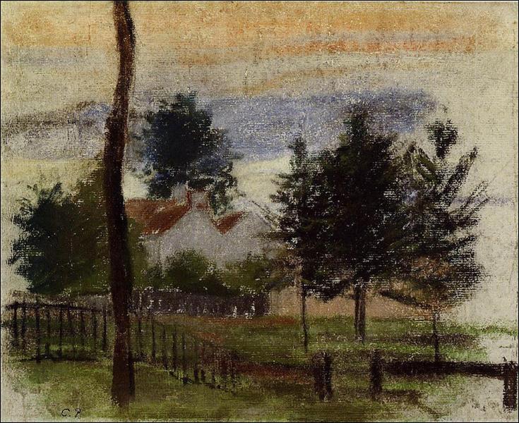 """Qui a peint """"Paysage à Louveciennes"""" ?"""