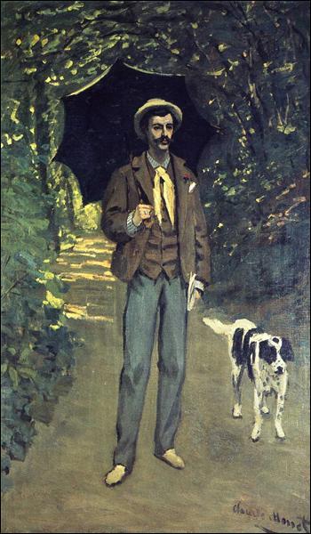 """Qui a peint """"Victor Jacquemont tenant un parasol"""" ?"""