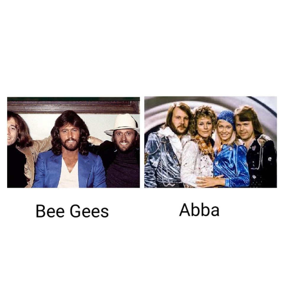 Bee Gees ou Abba ?