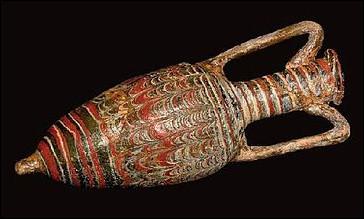 Quel est ce récipient utilisé dans l'Antiquité pour les transports du vin, de l'huile, de la bière et des sauces ?