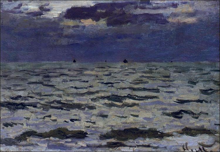 "Qui a peint ""Paysage marin"" ?"