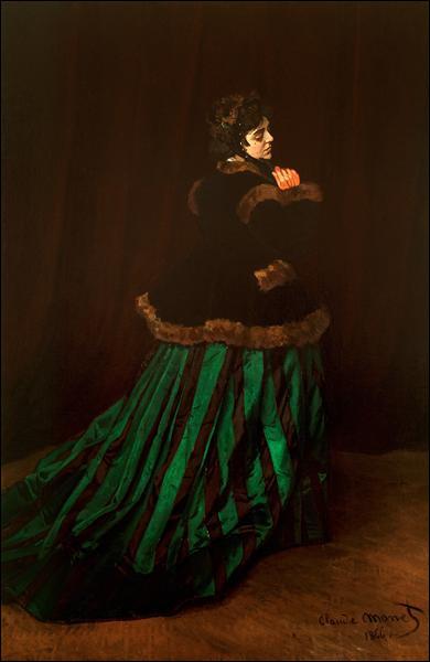 """Qui a peint """"La femme en robe verte"""" ?"""