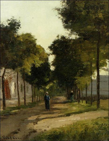 """Qui a peint """"La route"""" ?"""