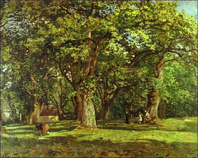 """Qui a peint """"La forêt"""" ?"""