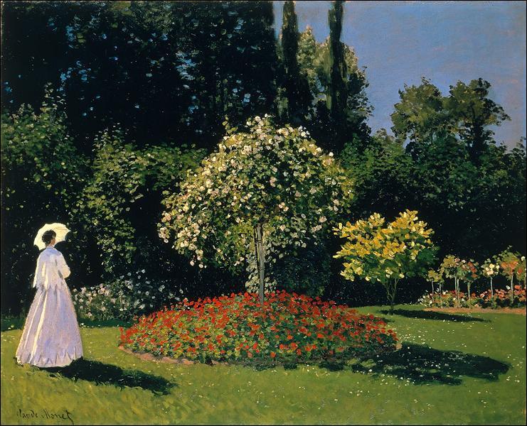 """Qui a peint """"Jeanne-Marguerite Lecadre dans le jardin"""" ?"""