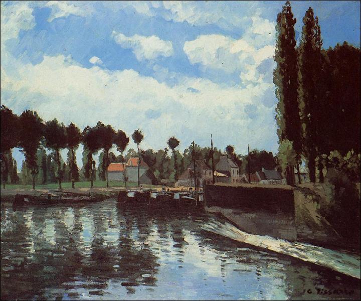 """Qui a peint """"L'écluse de Pontoise"""" ?"""