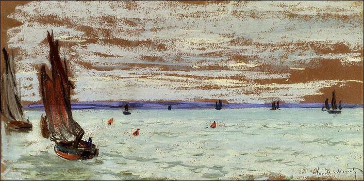 "Qui a peint ""Mer ouverte"" ?"