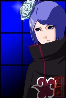 Quel est le surnom que les ninjas d'Ame donne à Konan ?