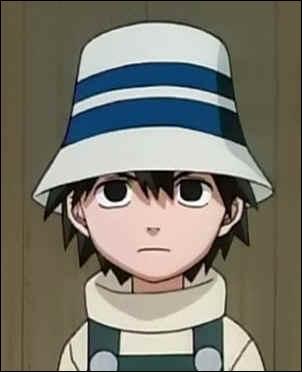 Il est le petit-fils de Tazuna, il est orphelin :