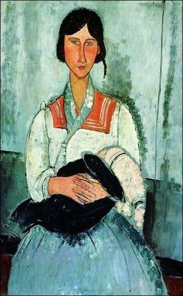 """Quel peintre du début XXe a peint """"Mère et enfant"""" à nouveau ?"""