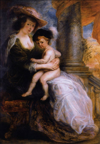"""Quel peintre baroque du XVIIe a réalisé le tableau """"Hélène Fourment et son enfant"""" ?"""