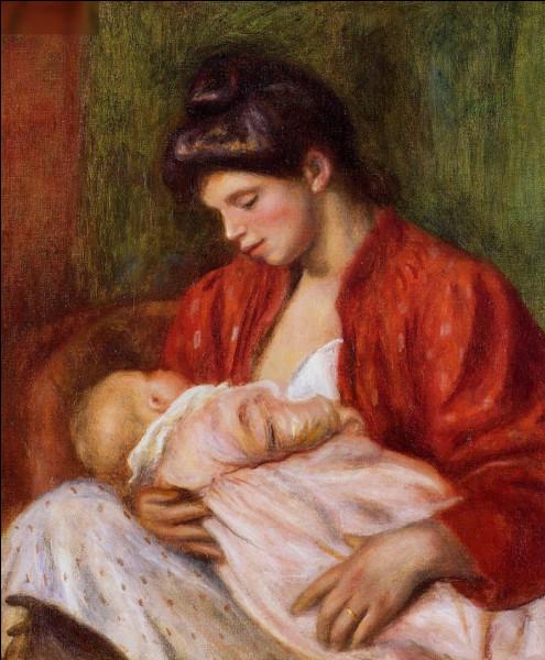 """Quel peintre est l'auteur du tableau """"La Jeune mère"""" ?"""