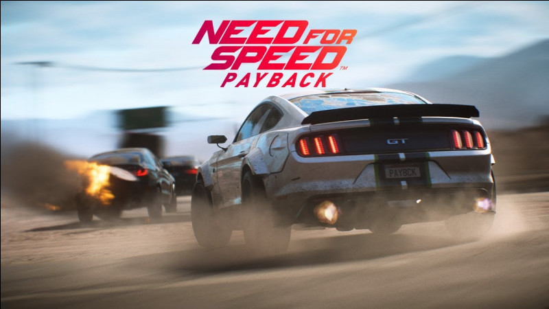 Need for Speed est un jeu...