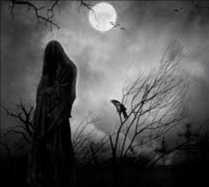 Dans le folklore occidental moderne, avec quoi la Mort est-elle généralement représentée ?