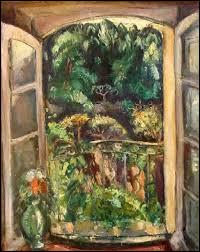 """Qui a peint """"La Fenêtre ouverte"""" ?"""