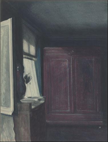 """Qui a peint """"La Chambre à coucher"""" avec sa fenêtre ouverte ?"""