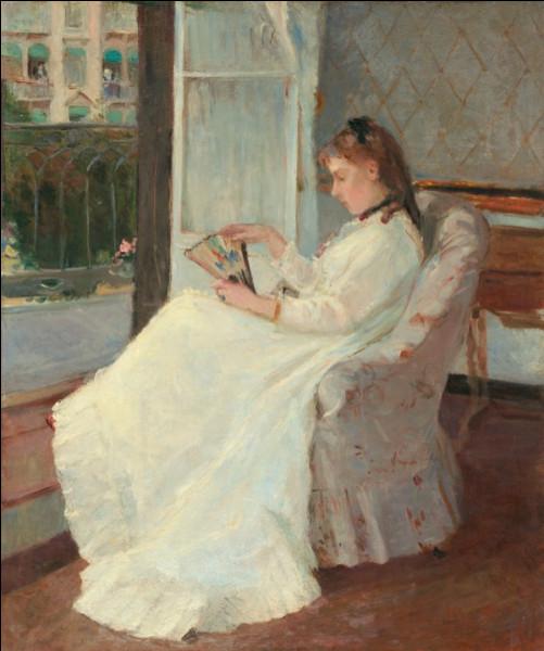 """Qui a représenté cette """"Femme à sa fenêtre"""" ?"""