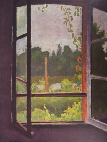 """Qui a peint """"Fenêtre à Mericourt"""" ?"""