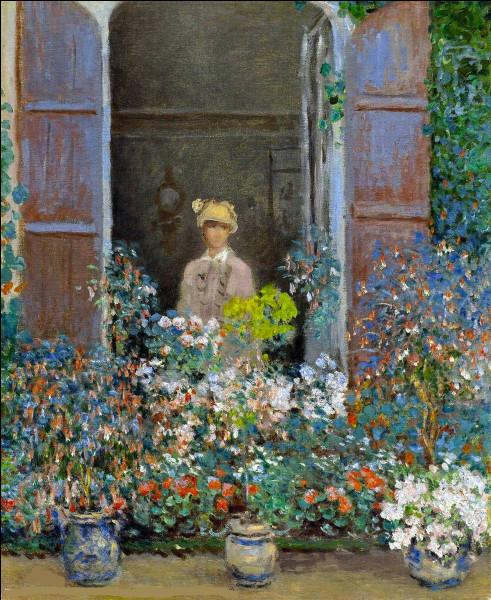 Qui a réalisé le portrait de son épouse à la fenêtre ?