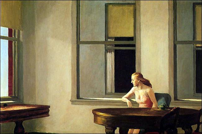 Un peintre à sa fenêtre !